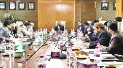 AIBL monthly business review meeting held
