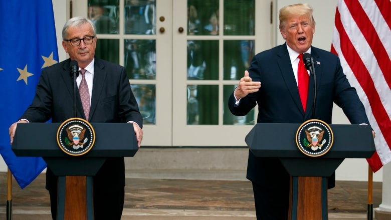 US-EU negotiate to skip trade clash