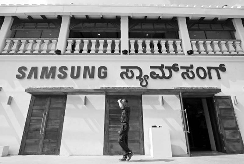 Samsung opens its biggest store world-wide in India