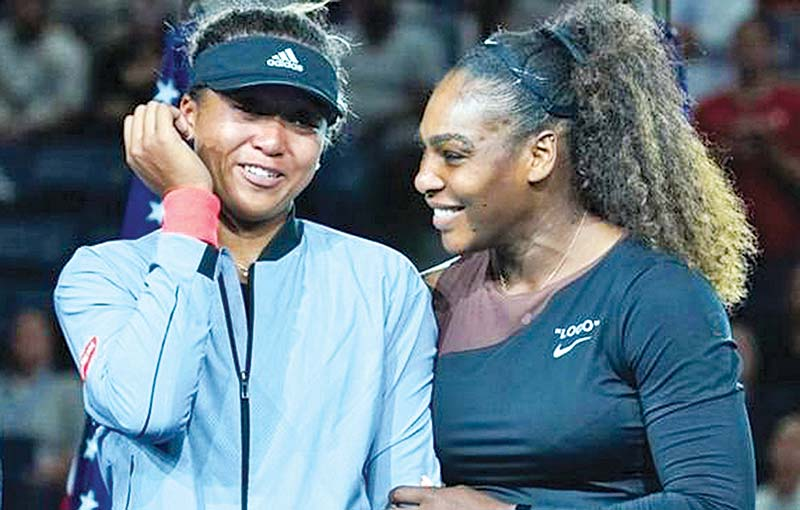 Serena Williams lost to Naomi Osaka at the US Open at the weekend