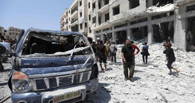 US warns Russia over looming operation in Syrian city of Idlib