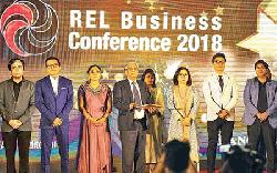 REL holds business confce