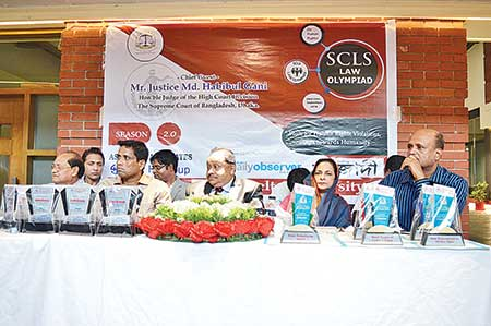 SCLS Law Olympiad held in Chattogram