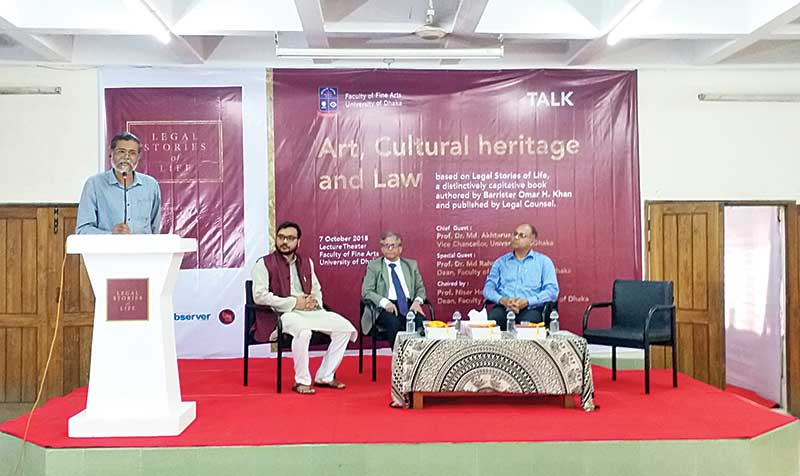Talk on Art, Cultural Heritage and Law