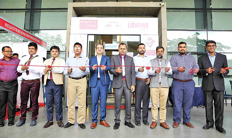 Int'l expos on interior-exterior and lighting start in Dhaka