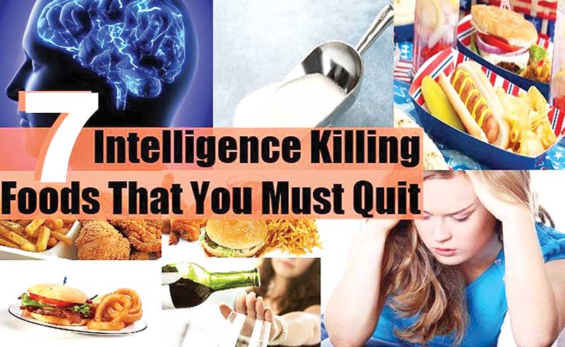 Know about the foods that kill intelligence
