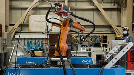 Robots to build cities of the future