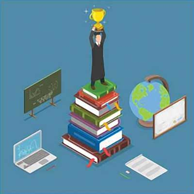 Stepping stones for higher studies