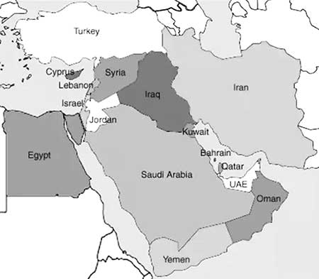 Volatility in the Middle East