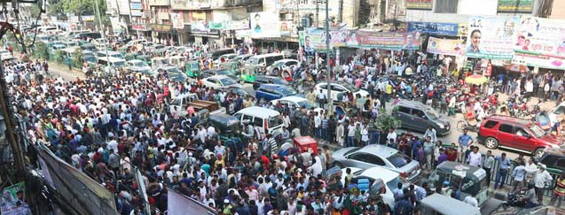 Nomination seekers cause suffering to Dhaka commuters