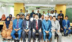 AIBL DMD poses for photograph with the participants