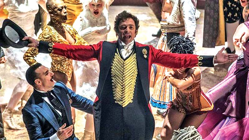 Jackman played PT Barnum in The Greatest Showman