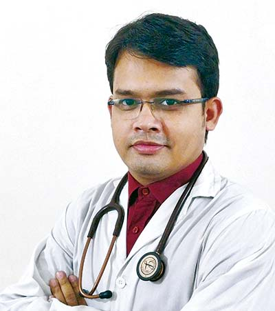 Dr Abhishek Bhadra Honorary Medical Officer, Internal Medicine BSMMU