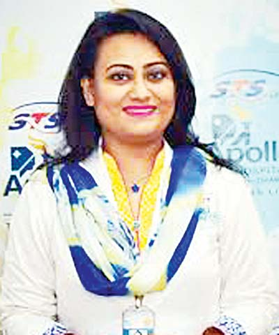 Tamanna Chowdhury Head of Dietetics Department Apollo Hospitals