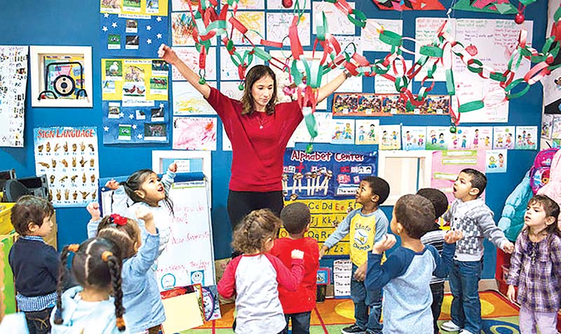 Quality education in childhood leads to continuous success