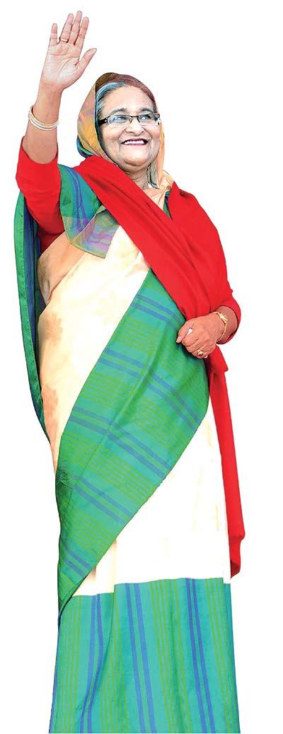 Awami League President Sheikh Hasina