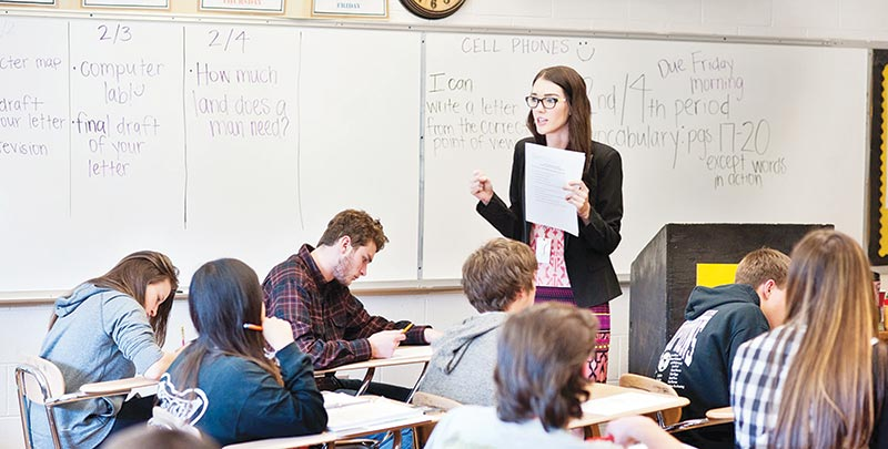 Strategies to prosecute an English class in English - Eduvista ...